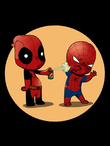 Deadpool: .....I'm not saying I've actually tried that , ha..........ok I've tried it twice.....
