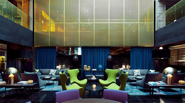 Clarion Post Hotel / Wille Interior