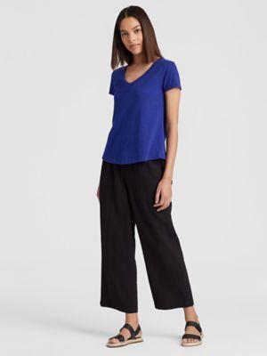 9b65cac6837 Organic Cotton Jersey Slub Shirttail Tee-S8SOJ-T4499