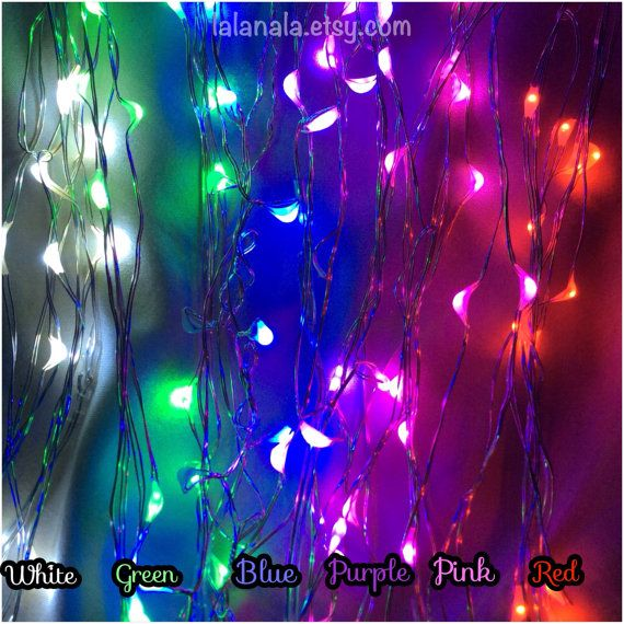 They kind of hurt my eyes. Mini Battery Powered LED Fairy Lights String of 20 by LaLaNala, $100.00