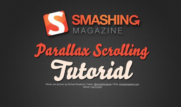 List of Free Parallax Scrolling Tutorials for Websites