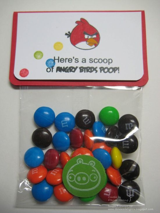 Danee's Stampin' Delights: MDS - Angry Birds Poop oh my gosh! So funny!