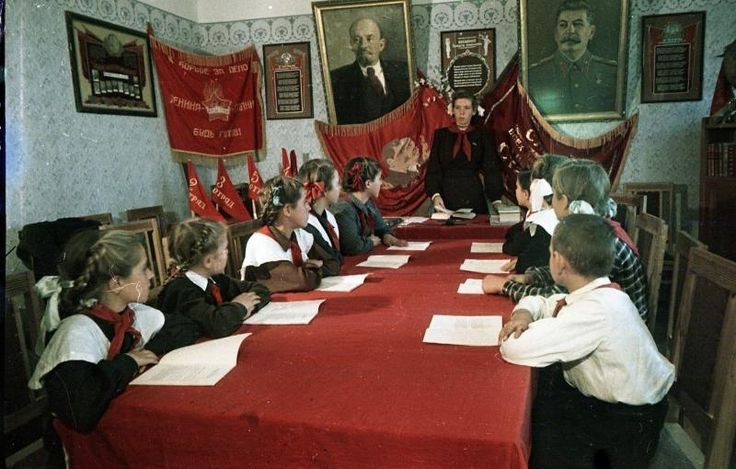 Пионеры Новой Каховки - История России в фотографиях