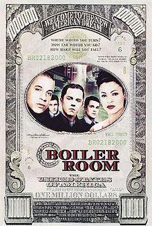 Boiler Room- Starring: Giovanni Ribisi and Vin Diesel (February 18, 2000)