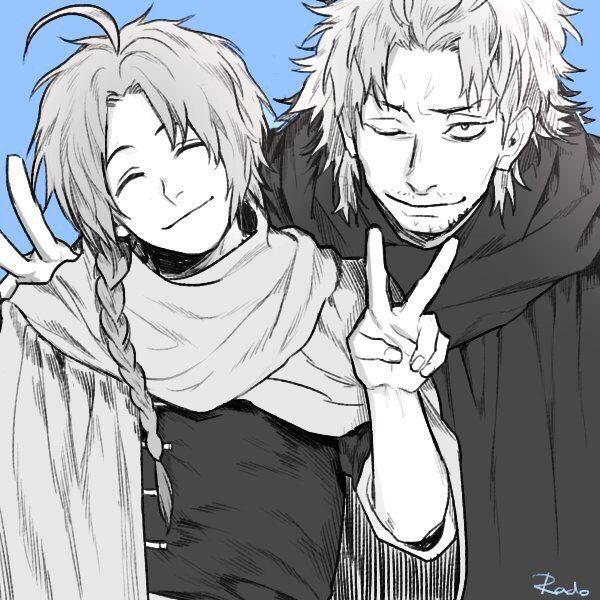 Gintama. Kamui & Abuto