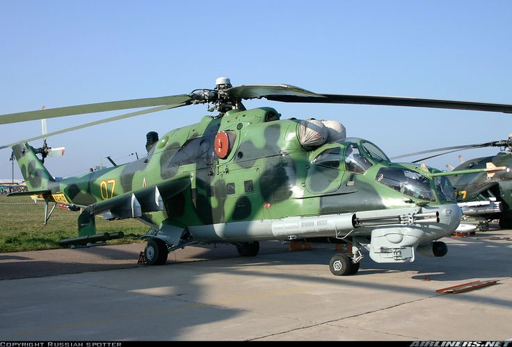 Mil Mi-24P  Russia - Air Force
