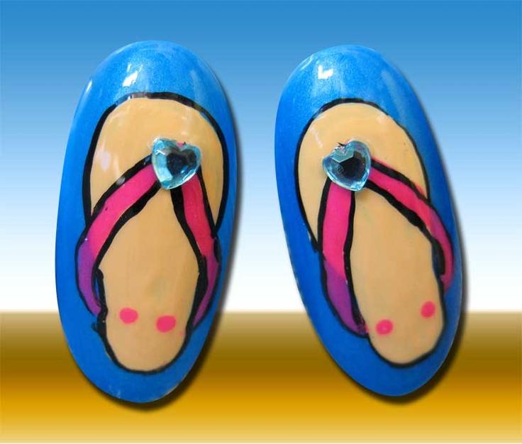25+ Best Ideas about Flip Flop Nails on Pinterest | Flip flop ...