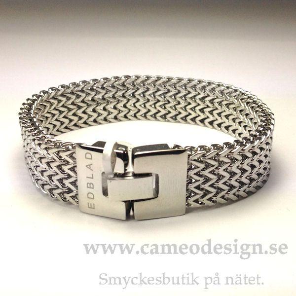 Armband i stål från EDBLAD, 349 kr. http://www.cameodesign.se/edblad-armband-a05-p-2806.html