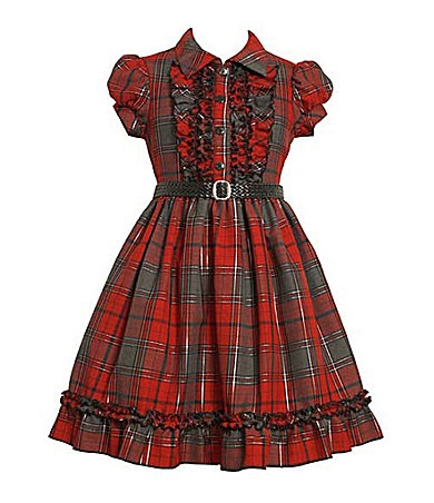 The girls Christmas Dress