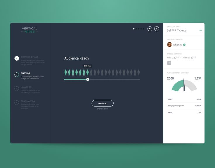 Ad Creation by Corey Haggard for Mossio #ui #chart #dark