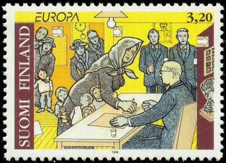 In 1905, first in the world, Finnish men and women received the right to vote and to  run for parliament.
