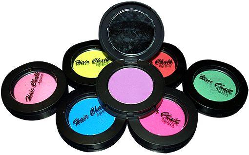 Hair chalk various colours available.