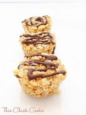 Copycat Clif Bars (from This Chick Cooks) - Not sure how they'll compare to the real thing, but I want to give them a shot.