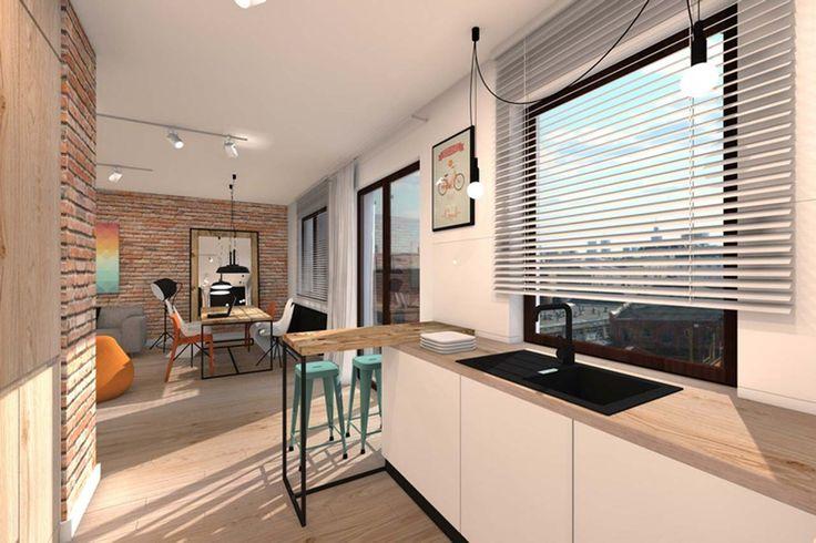 Home Interior Design Ideas ~ http://www.lookmyhomes.com/best-home-interior-design-ideas-15-photos-by-loft-in-katowice/
