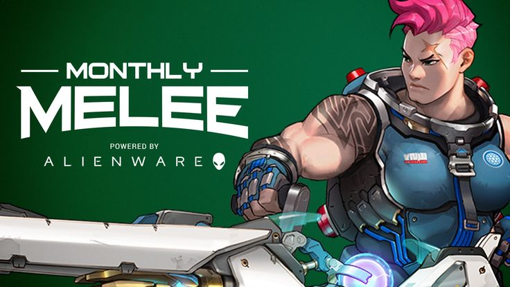 Overwatch Alienware Montly Melee - Coming August 30-31