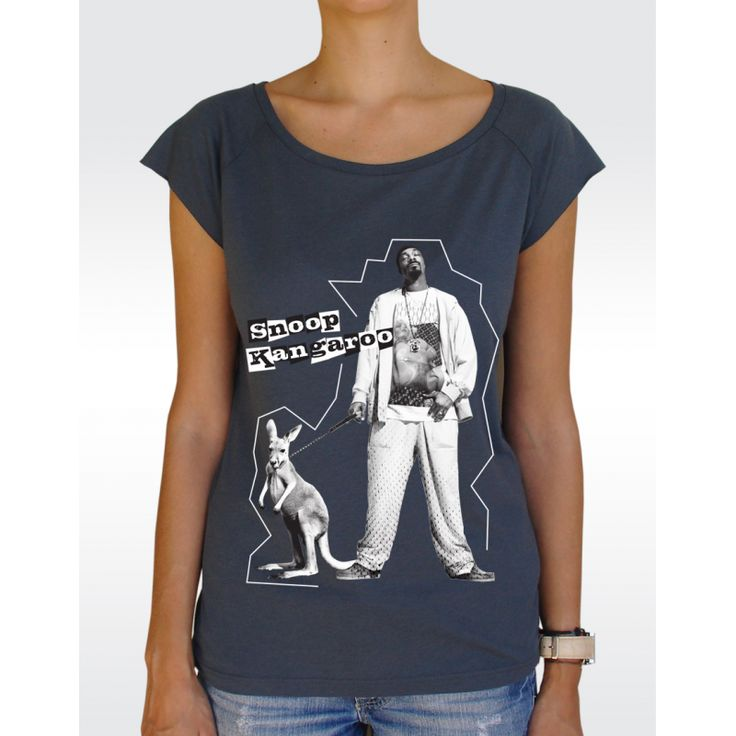 W43 SNOOP T-shirt Women's Bamboo Viscose Raglan T-Shirt Available in 5 colours!