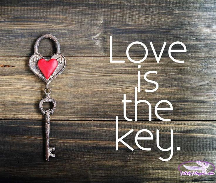 """""""Love is the key. If we start to express the spring of love within that is our…"""