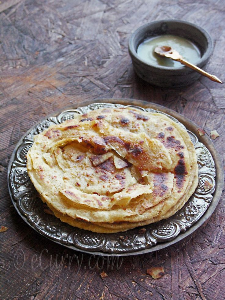 Lachha Paratha – Layered Griddle Cooked Flatbread