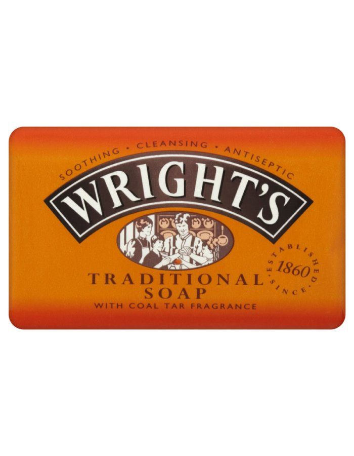 Wrights Coal Tar Soap 100g Soothing cleansing antiseptic, Specially formulated for everyday skin cleansing, Contains an active ingredient with natural antiseptic properties, Traditional coal tar fragrance, Suitable for all skin http://www.MightGet.com/january-2017-11/wrights-coal-tar-soap-100g.asp