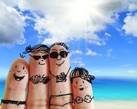 Planning a family holiday - money saving tips