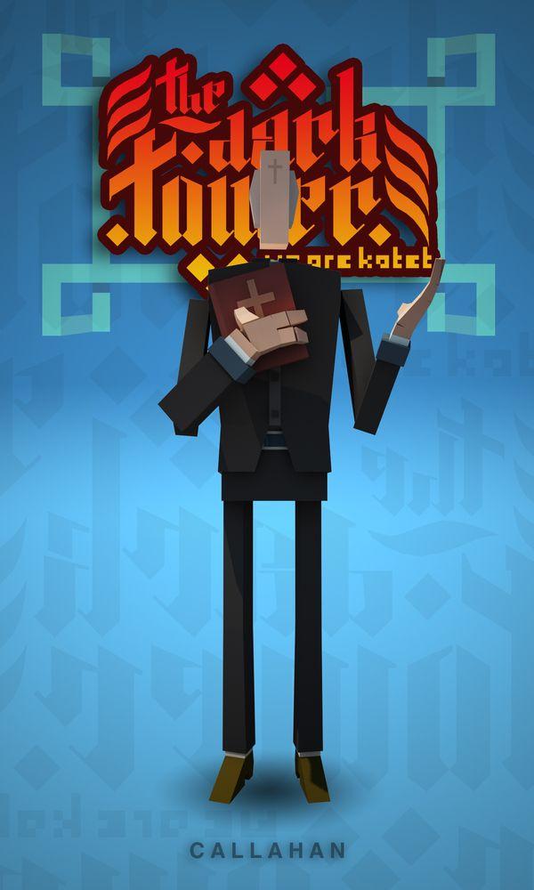 The Dark Tower Characters by Rodrigo Oliveira, via Behance
