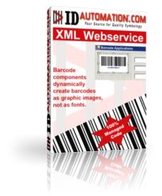 IDAutomation XML Bar Code Generator Webservice
