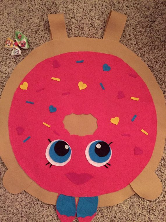 Shopkins Costume Delish Donut Costume with by LexisLilBowtique