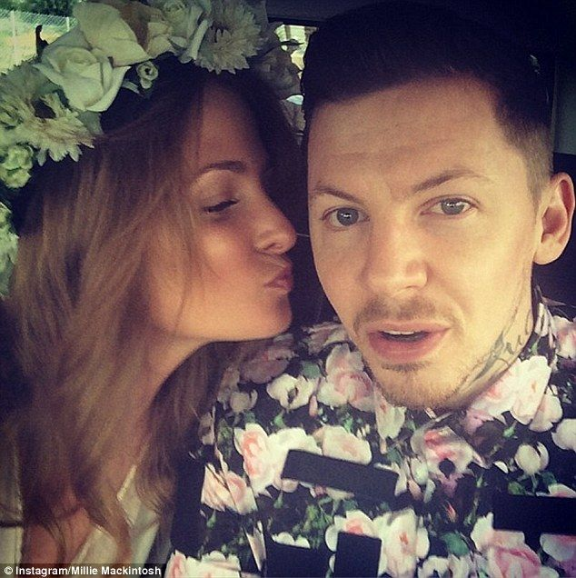 Dapper dude: By no means letting his wife down in the sartorial stakes, Professor Green lo... http://dailym.ai/1hcLSJ0#i-ad150e8d