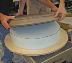 Tips and Tricks for Plates and Platters | Making the paltter, trimming and…