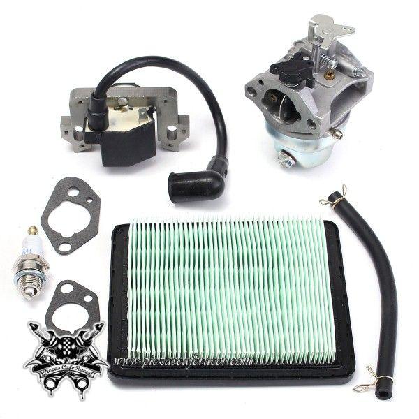 32,91€ - ENVÍO GRATIS - Carburador Completo con Juntas + Bujía + Filtro de Aire Para Honda GCV160 HRB216 HRS216 HRR216