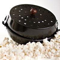 Campfire Popcorn Popper and Chestnut Roaster
