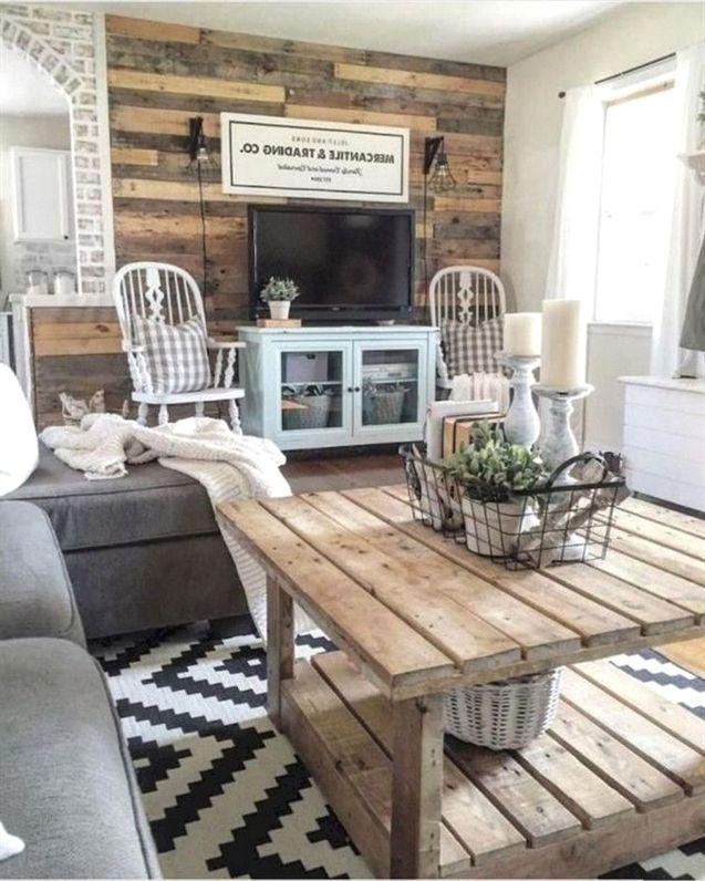 70 amazing farmhouse living room decor ideas page 20 of 76 rh pinterest com