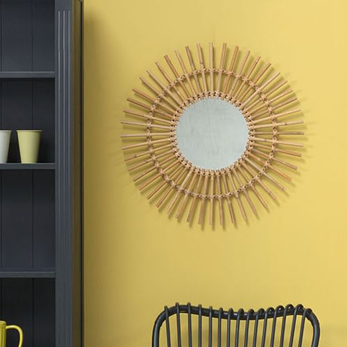 17 best images about shopping on pinterest hexagons for Miroir rond forme soleil