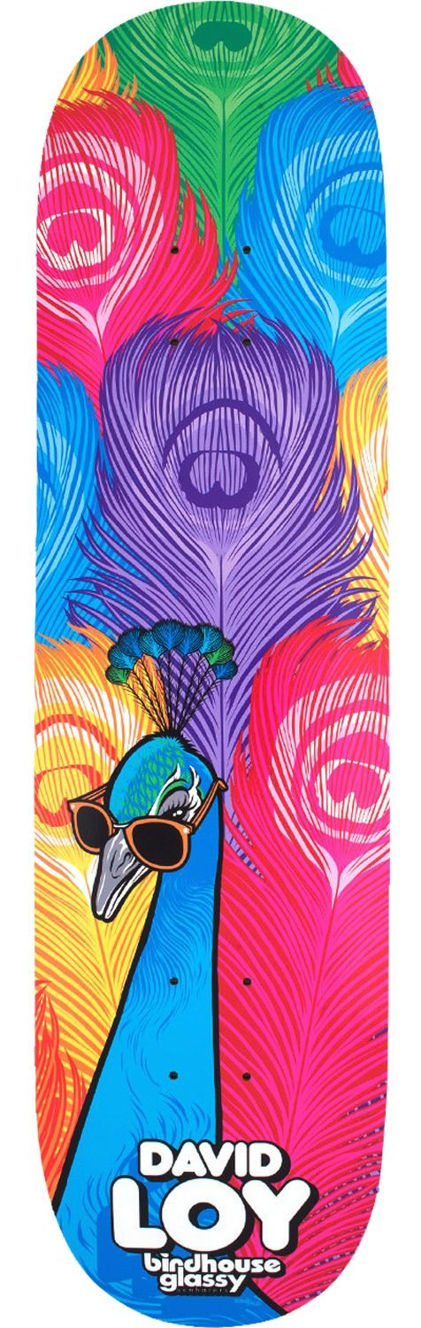 Birdhouse Skateboards David Loy Fowl Skateboard Deck