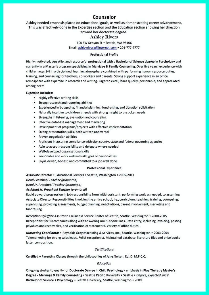192 best resume template images on Pinterest  Resume