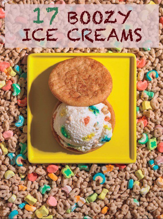... Treats, Ice Cream Sandwiches, Lucky Charms, Food, Charms Ice, Icecream