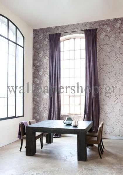 Wallpapers :: Romantic :: Silence :: Silence Poppy Blossom No 7309 - WallpaperShop