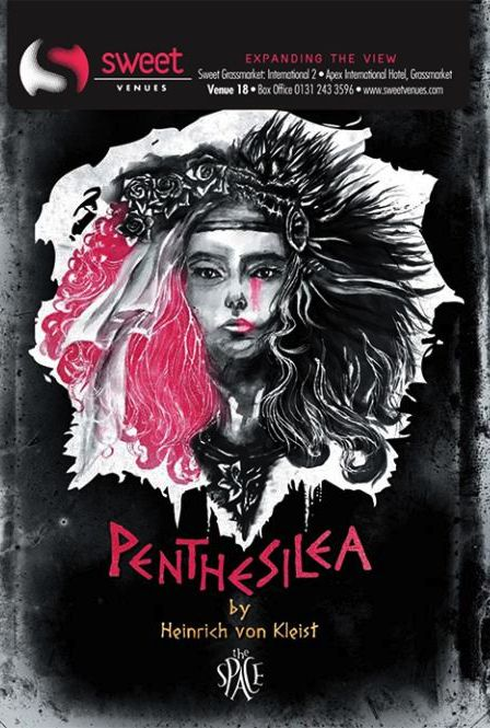 UK premiere of German Classic 'Penthesilea'   An adaptation merging verse, live #music and physical #theatre into a poetic and merciless trip to the dark side of love!  www.sponsume.com/project/penthesilea-boy-meets-girl-girl-eats-boy