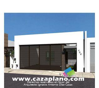 Fachadas de casas peque as buscar con google fachadas for Casas minimalistas pequenas
