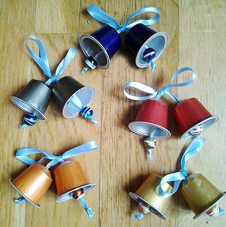 HOME DZINE Craft Ideas | Festive crafts with Nespresso capsules
