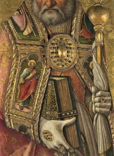 Saint Peter by Carlo Crivelli