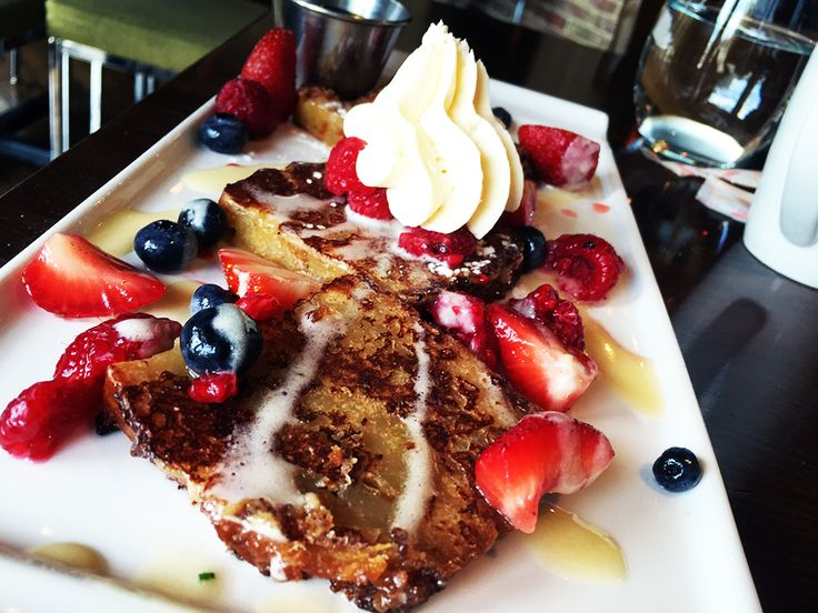 Satisfy Your Sunday Brunch Hunger With A Beautiful Bread Pudding French  Toast From 8407 Kitchen Bar One Of The Best Restaurants In Down Town Silver  Spring