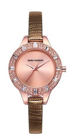 Relojes Mark Maddox Pink Gold MC3022-20