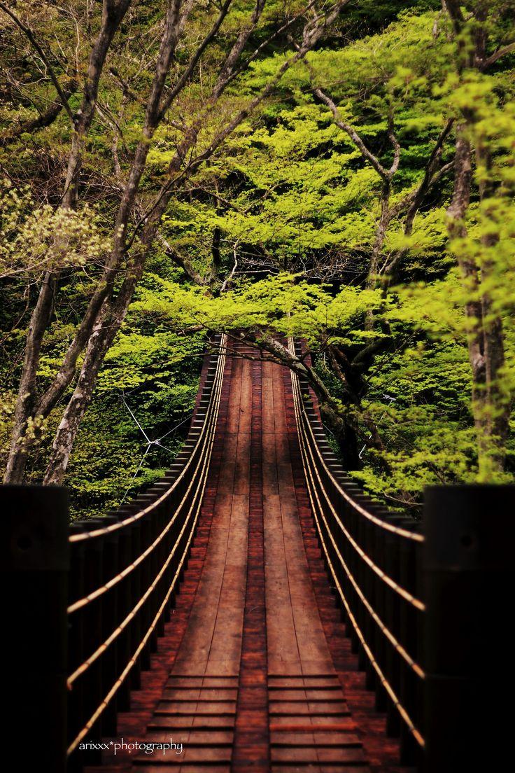 Shiomibashi Bridge - Takahagi, Ibaraki, Japan