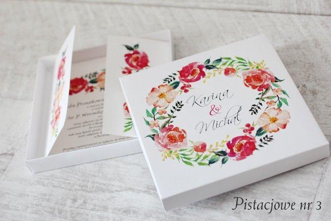 Pistacjowe - w pudełku - Amelia wedding