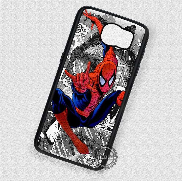 The Man with a Mask Spider Man - Samsung Galaxy S7 S6 S5 Note 7 Cases & Covers