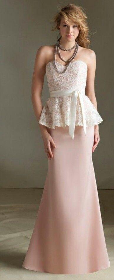 In looooovvvveee with this bridesmaid dresse!!! ♥♥♥