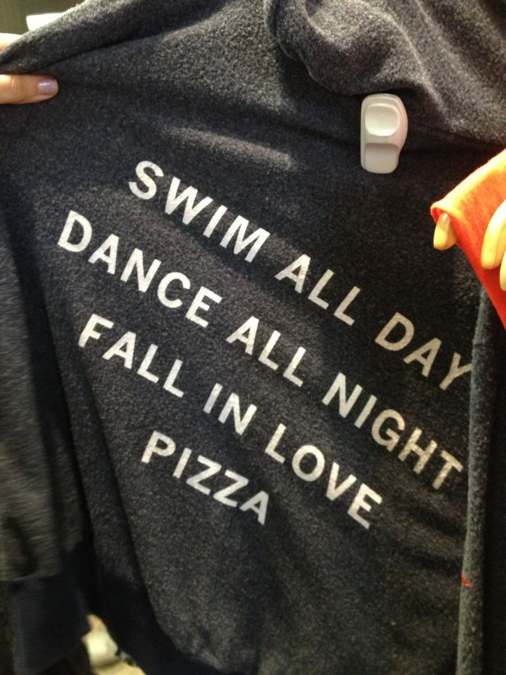 A swimmers life...