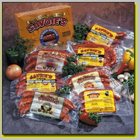 Savoie's is my top favorite real  Louisiana Cajun smoked sausage and andouille products.