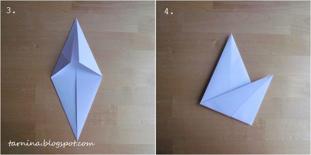 """Dom pracy twórczej """"Tarnina"""": Przestrzenna gwiazda origami na choinkę. ZRÓB TO SAM"""
